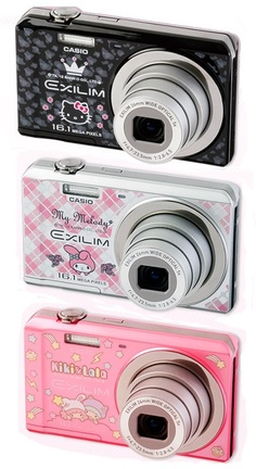 Sanrio Casio Camera