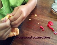 Playing with Putty for Sensory Integration as part of a Sensory Diet