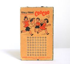 CooCoo Punch Board Game  Rare Fun and by Mylittlethriftstore, $28.00