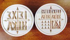 Orthodox Hand Carved Prosfora seal  on wood - www.nioras.com