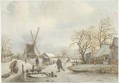 Gerrit Lamberts | Winterlandschap, Gerrit Lamberts, 1815 |