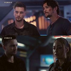 The 100 New pictures from the trailer of season 5 ❤️ #the100 #bellamyblake #ravenreyes #johnmurphy…""