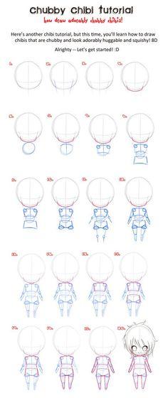 Drawing Tutorial: Chibi, manga
