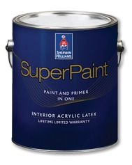 With SuperPaint Interior Acrylic Latex, Youu0027ll Enjoy The Benefits Of Paint  And Primer