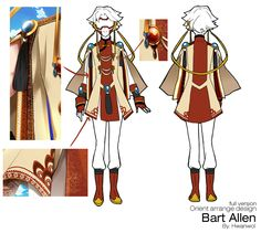 Full Body Oriental Style Bart Allen aka Impulse