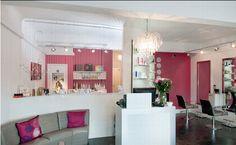small space salon, layout