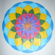 Age 12 ~ Math ~ Geometry ~ The Twelve-Petalled Flower