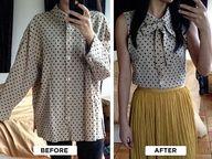 repurposed mens dress shirts - Bing Images