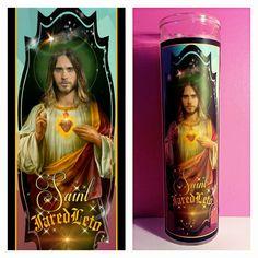 Jared Leto Prayer Candle