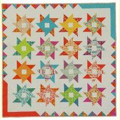 Pinwheel Parade - New Patterns by Sandy Gervais #quilting #pinwheels #brights