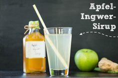 Apfel-Ingwer-Sirup