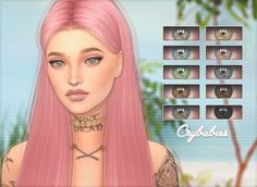 """crybvbies: """" Crybabies // Doe Eyes A set of high quality eyes I made because I was bored lmao, if you have any issues please send me a message and I will try my best to help you! I hope you guys like them! Info: • Unisex • Comes in 14 colors • HQ..."""