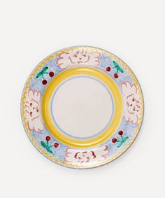 Willemien Bardawil - Angels Delight Plate Ceramic Plates, Decorative Plates, Angel Delight, Kitchen Larder, Pink Plates, Gold Flatware, Nature Paintings, Divine Feminine, Artisan