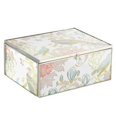 Butterfly Home by Matthew Williamson Pink large peacock motif jewellery box- at Debenhams.com