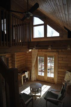 Finnish log house