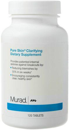 Murad Pure Skin Supplement / 120 Tabletten : Nahrungserg盲nzung
