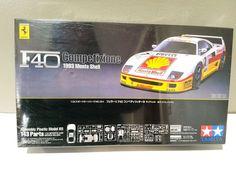 TAMIYA Ferrari F40 Competizione 1993 Monte Shell 1:24 Scale Model Kit - Sealed #TAMIYA