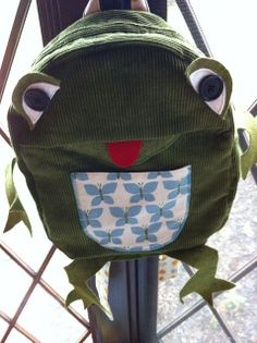 Oliver + S backpack as a frog! | Flickr - Photo Sharing!