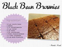 Black Bean Brownies - Kruimels & Kaneel