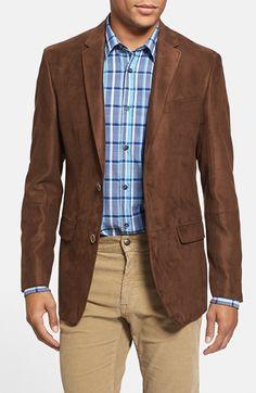 BOSS HUGO BOSS 'James' Trim Fit Navy Windowpane Sportcoat ...