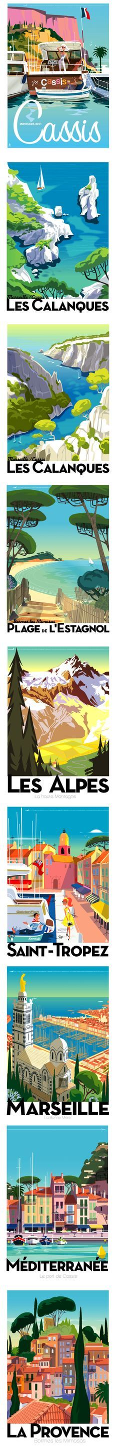 Postcards by Monsieur Z