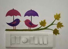 New Bird Wallpaper Kitchen Blue Ideas Simple Wall Paintings, Wall Painting Decor, Diy Wall Decor, Wall Art Designs, Paint Designs, Wall Design, Canvas Art Quotes, Diy Canvas Art, Mural Art