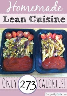 """I decided to try my hand at my own homemade """"lean cuisine"""" style lunches because I tend to reach for something easy, and often microwavable, for lunch. Freezer Cooking, Cooking Recipes, Healthy Recipes, Bulk Cooking, Slow Cooking, Make Ahead Meals, Easy Meals, Cheap Meals, Lean Cuisine Diet"""