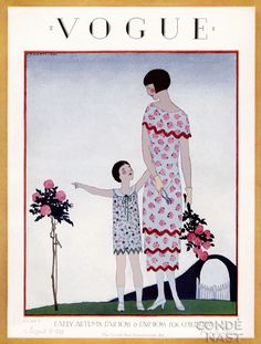 Vintage Vogue magazine covers - mylusciouslife.com - August 15 1925 - vintage cover of Vogue.jpg