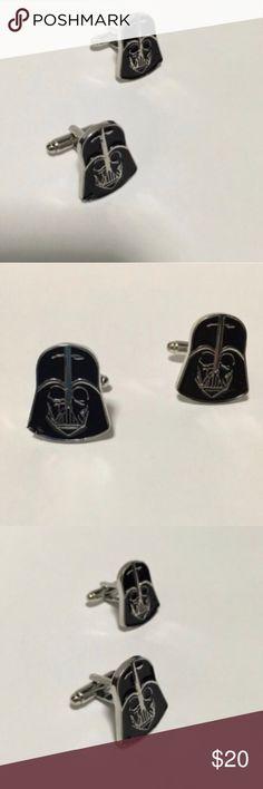 Darth Vader Star Wars Cufflinks Darth Vader Star Wars Cufflinks. Makes a great gift for him 💕💏🎁 Accessories