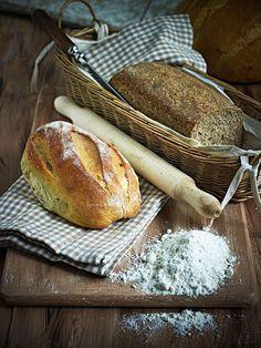 Ψωμί: Πώς να το ζυμώσετε και να το ψήσετε σωστά - www.olivemagazine.gr Greek Recipes, Rolls, Food And Drink, Bread, Cooking, Health, Weddings, Kitchen, Health Care