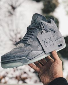 these 🤔👌🏽 - 📸 by Rate these 🤔👌🏽 - 📸 by Rate these 🤔👌🏽 - 📸 by Air Jordan 4 KAWS Nike Air Jordan, Air Jordan Sneakers, Jordan 4, Jordan Retro 4, Basketball Sneakers, Zapatillas Jordan Retro, Sneakers Fashion, Shoes Sneakers, Jordans Sneakers