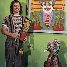 Karl Wirsum, 1971. Repost from @dannadel karlwirsum hairywho chicago