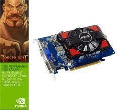 GT630-2GD3 + Тorchlight, NVIDIA GForce, GT630, PCIe 2.0, 2048 MB, DDR3, 128-bit, Работен такт GPU 810   Графичка картичка VGA AS GT630-2GD3 + ГРАТИС игра Torchlight      MHz, Такт на меморијата 1800 MHz, DVI-I, 1x D-sub, HDMI, 2560x1600, ГРАТИС ИГРА TORCHLIGHT!
