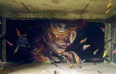 El arte callejero de Hopare 2