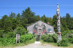 Masset, BC Charlotte City, Haida Gwaii, Haida Art, Archie, British Columbia, Places Ive Been, Natural Beauty, Prince, Journey