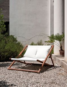 Deck chair for two...