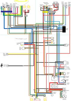 Wiring    Diagram    for Triumph  BSA with Boyer Ignition   tut