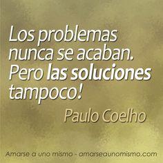 Si nos concentramos en la solución y no en el problema... la solución o una alternativa todavía mejor, finalmente aparecen!