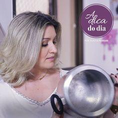 Faça em casa uma pasta para dar brilho em panelas com sabão, vinagre e açúcar. Super econômica e eficiente! #aDicadoDia #DIY