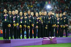 United States Women's Soccer Team wins Gold Medal