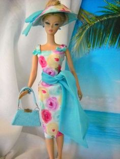 Vintage Repro Articulating Barbie Silkstone FR Parker Fashion Handmade OOAK Mary