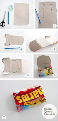 Cereal is the new duct tape; check out this sweet DIY wallet!