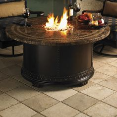 Tommy Bahama Outdoor Kingstown Sedona Gas Fire Pit 3190-920FG