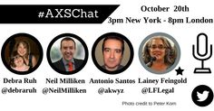 #AXSChat is honored to feature @LFLegal on our chat Tuesday. She is a brilliant #lawyer and #advocate for individuals with #disabilities. #ADA #CRPD #disabilty #Disabilites #accessibility #a11y @debraruh @neilmilliken @antoniovieirasantos @edaccessible #share #followme #follow #twitter #instagood #instagram #chat