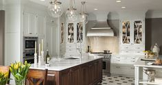 Embassy Row Kitchen by Wood-Mode Fine Custom Cabinetry