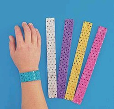 Slap bracelets.. banned when I was in elementary school.