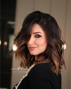 Popular Short Haircuts 2018 – 2019 - The UnderCut - Short-Dark-Brown-Hair Popular Short Haircuts 2018 – 2019 - Golden Brown Hair, Brown Blonde Hair, Light Brown Hair, Dark Hair, Dark Brown, Coffee Brown Hair, Coffee Hair, Brown Hair With Highlights, Brown Hair Colors