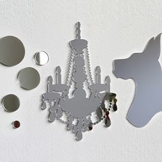 Curiously Laser-Cut Mirrors