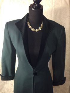 Beautiful vintage Christian Dior green wool by MelsVintageCloset, $99.00