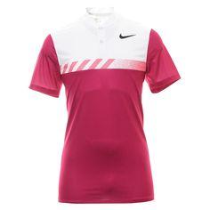 0354e695 XL Nike Golf MM Fly Framing Block Shirt 885710 Sport Fuchsia 607 Tiger  Woods, Nike